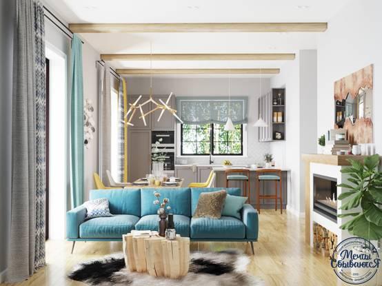 Дизайн интерьера загородного дома: 10 примеров | homify