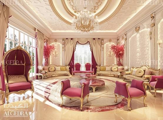 Luxury ladies majlis design
