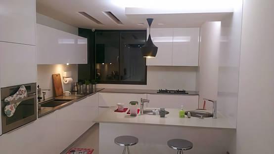 白淨優雅地做菜吧!來自新北廚房裝修師的質感設計