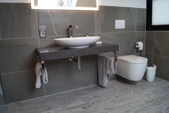 Badezimmer mit effektiver Dämmung