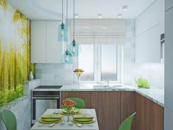 Дизайн малогабаритной трехкомнатной квартиры 62 метра | homify