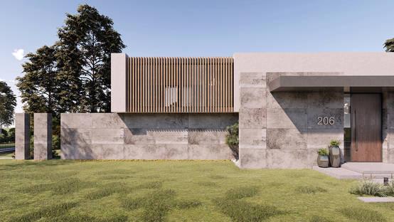 Lüks, konfor ve huzurun bir araya geldiği modern bir villa projesi