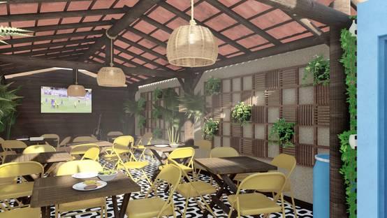 Projeto de reforma para bar gastronômico na região de Salvador