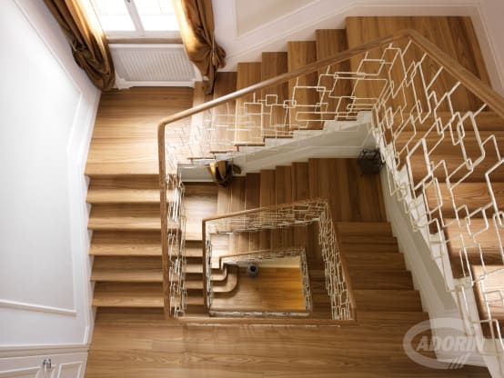 The staircase styles of Cadorin Group