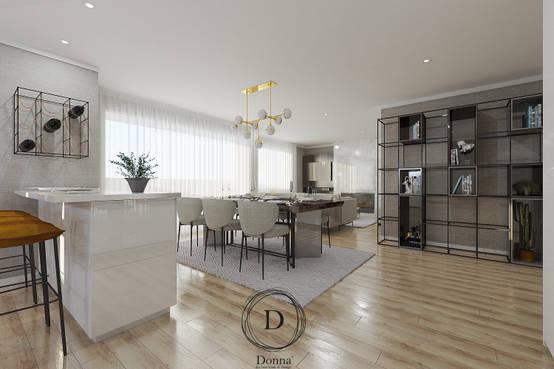 Luxo e design num apartamento topo de gama