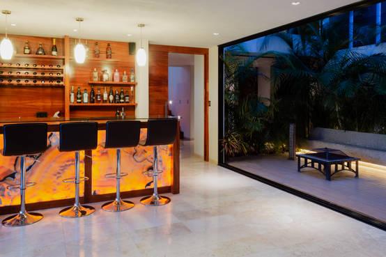 Genial diseño residencial en San Luis Potosí donde el paisaje fue la clave