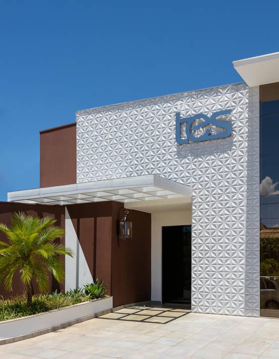 Projeto de arquitetura e interiores para clínica dermatológica em Campo Grande | homify | homify
