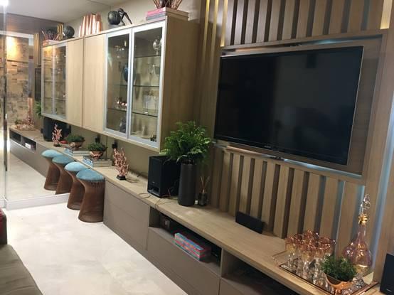 Reforma de apartamento com área gourmet em Brasília