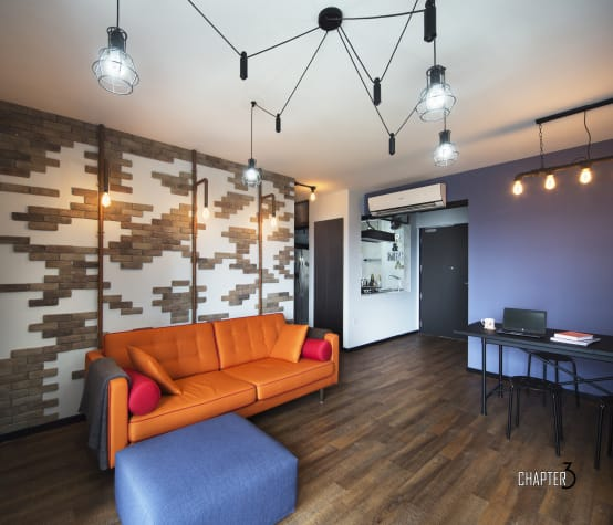 The freshly renovated city apartment by Chapter 3 Interior Design