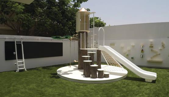 Contemporary Outdoor Playground
