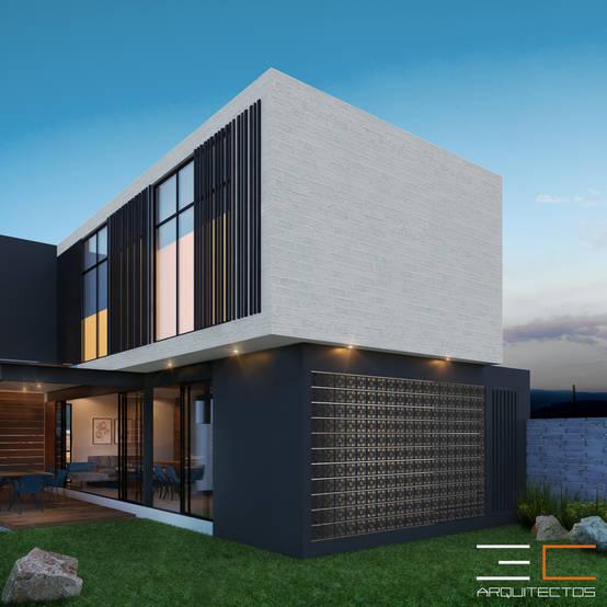 Diseño y construcción de una residencia de estilo moderno por arquitectos expertos en León, Guanajuato
