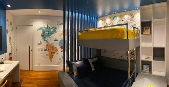 Projeto de Interiores de Quarto Infantil em São Paulo | homify | homify