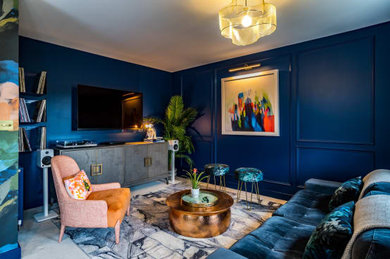당신의 벽을 블루컬러로 칠해야 하는 이유