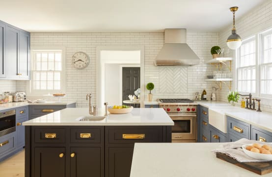 The homify guide to mixing kitchen countertop materials