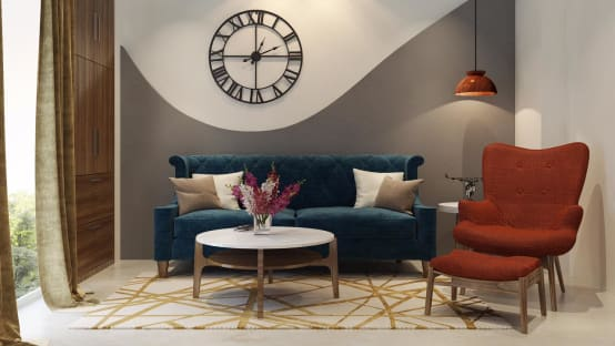 A Beautiful House With Trendy, Chic and Functional Interiors   homify