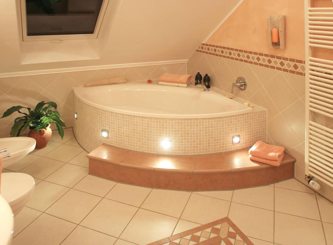 Mediterraner einrichtungsstil for Fliesen badezimmer bilder