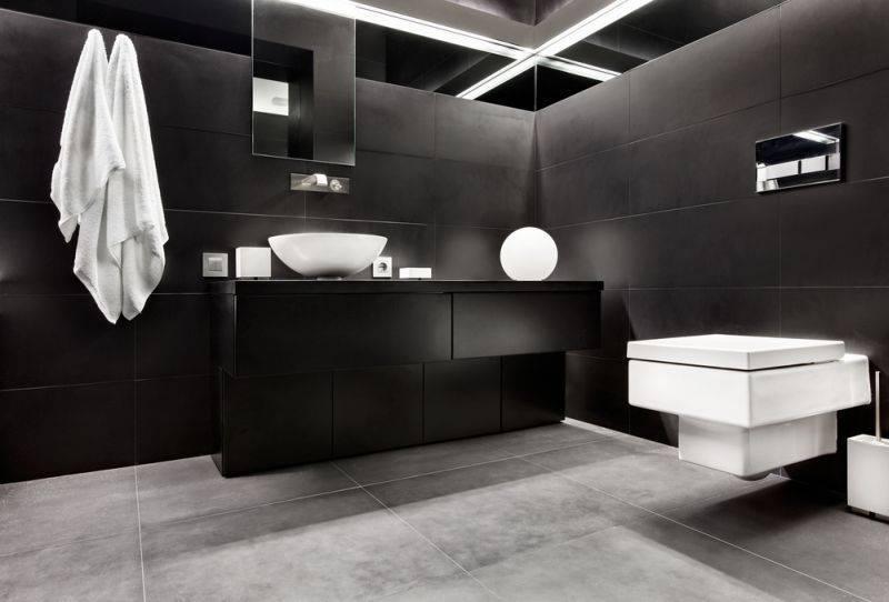 All Black: Dunkle Einrichtung