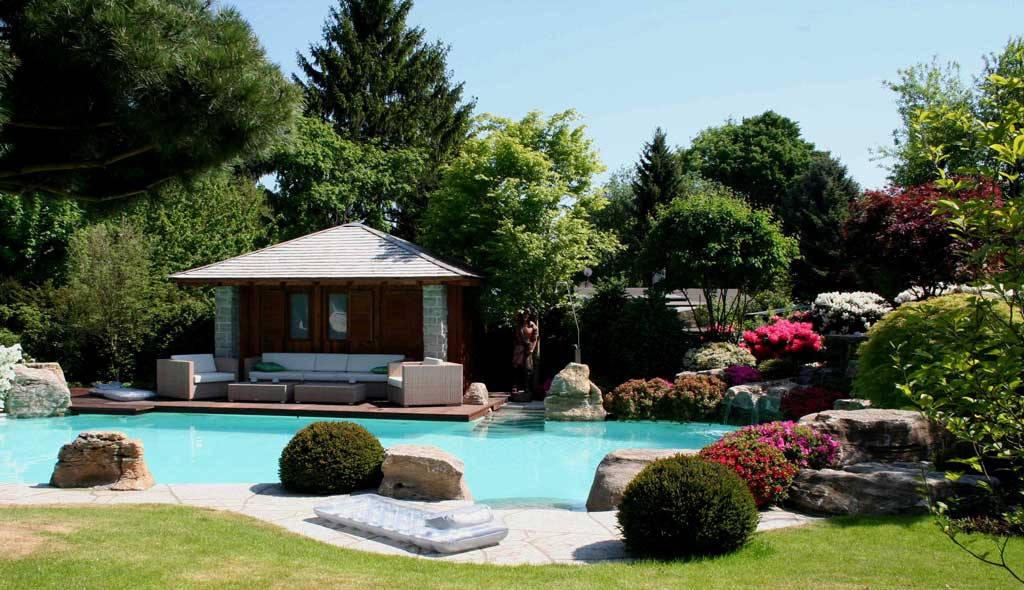 Sette giardini da sogno per altrettante abitazioni da favola for Case da favola interni