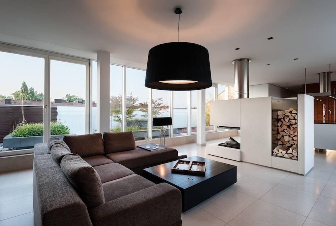 Oturma odas ve dekorasyon nas l olmal for Moderne innenarchitektur einfamilienhaus