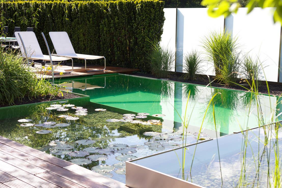 5 fantastiques piscines. Black Bedroom Furniture Sets. Home Design Ideas
