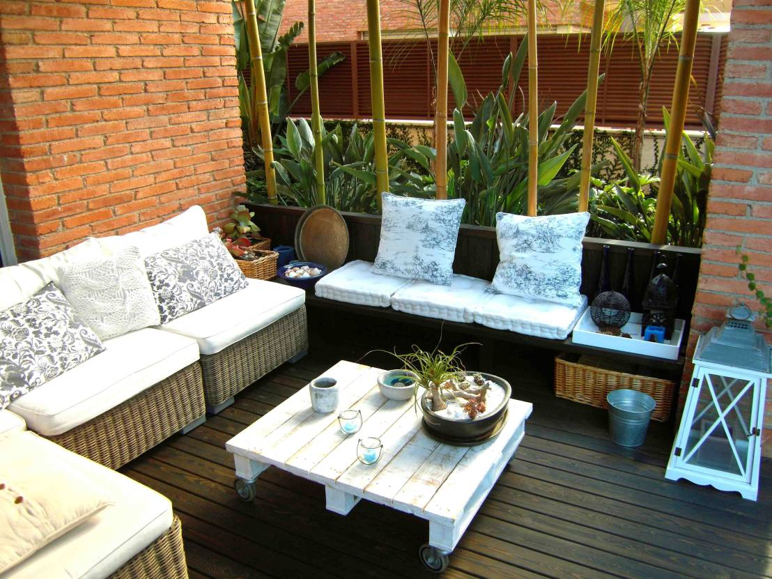 6 ideas para incorporar el bamb en tu vida for Ideas para decorar una terraza exterior