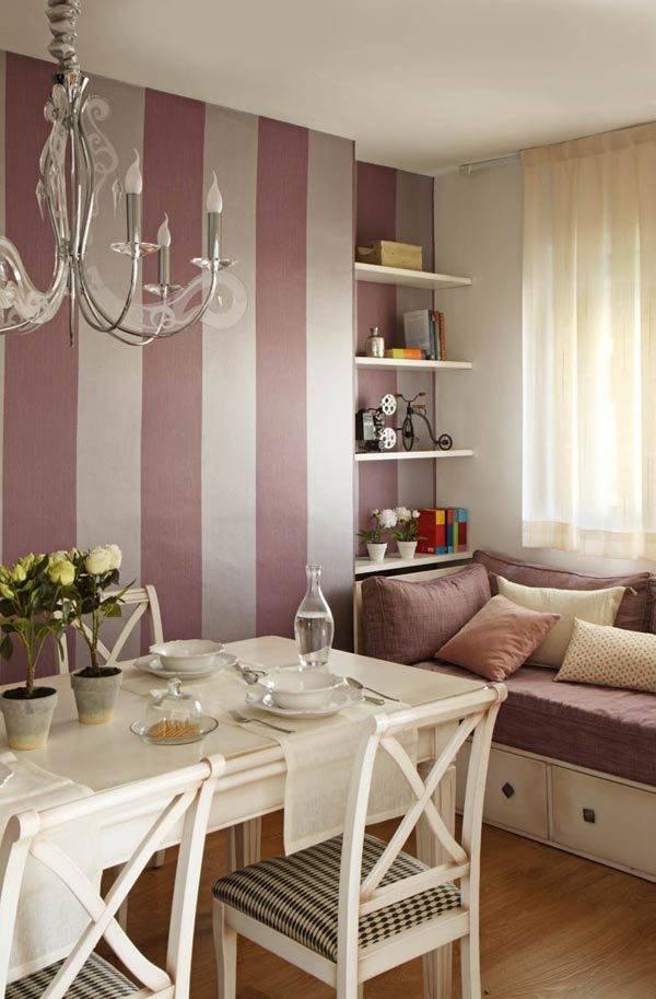 Salones y comedores peque os confort en poco espacio - Ideas para decorar salones pequenos ...