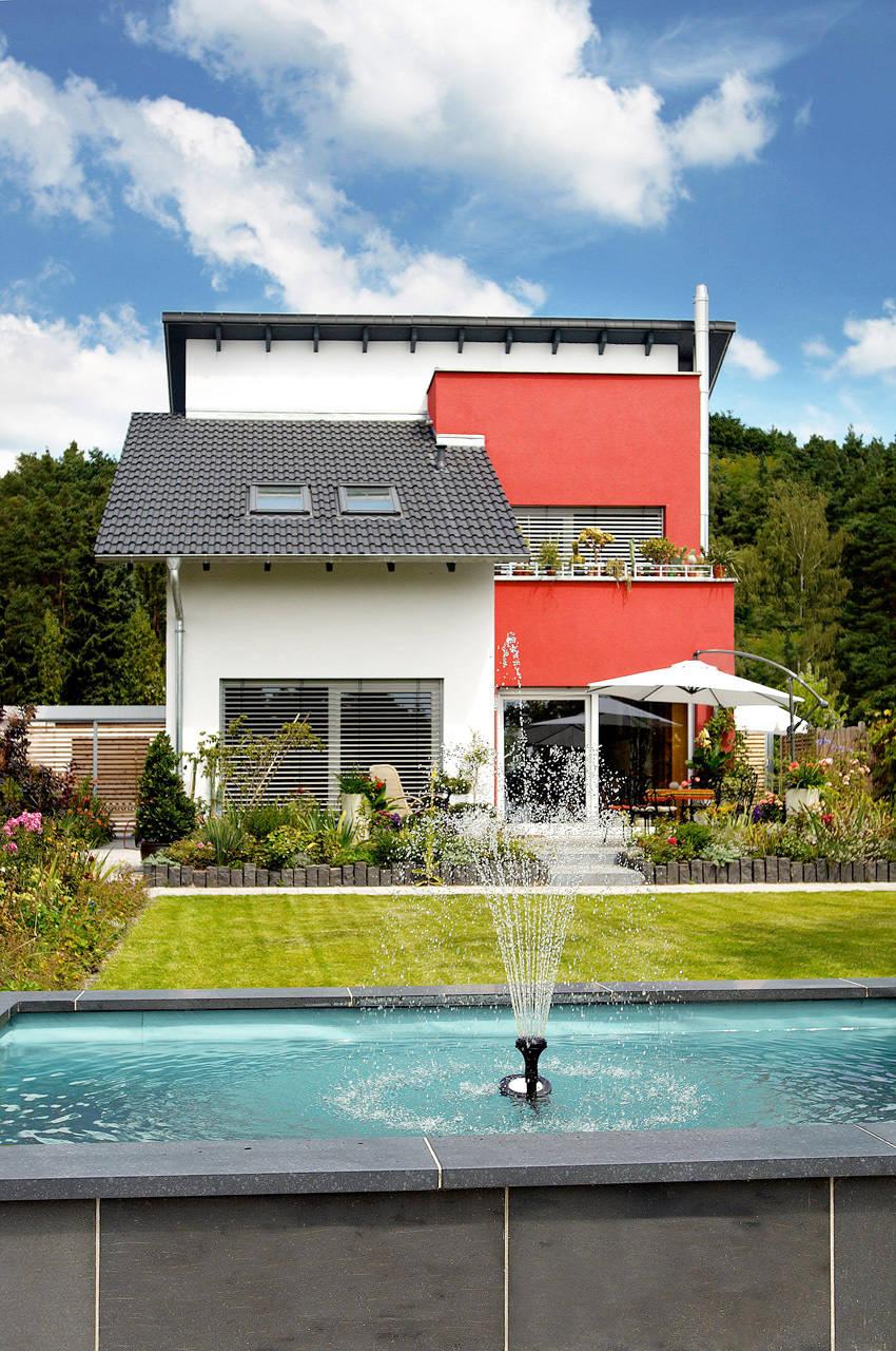 klassisches einfamilienhaus de b2 b hme projektbau gmbh homify. Black Bedroom Furniture Sets. Home Design Ideas