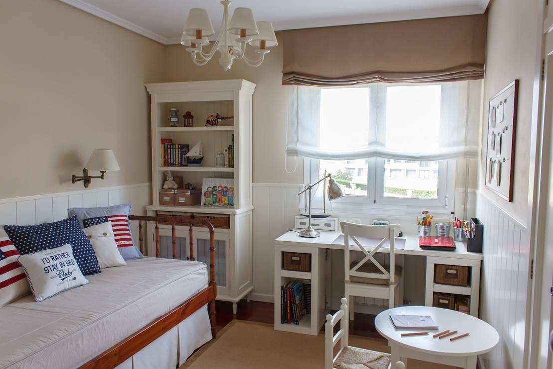 Zonas de estudio en habitaciones infantiles - Habitaciones de estudio ...