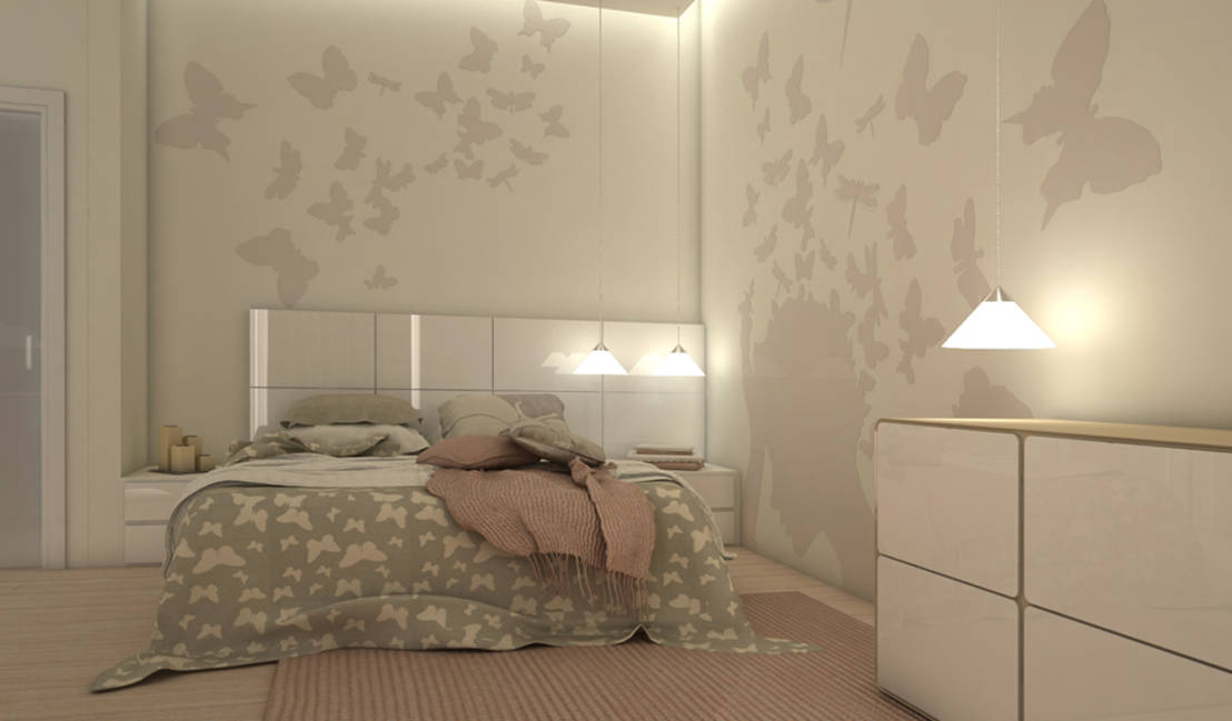 Consigli per rendere unica la camera da letto with pitture - Pittura particolare ...