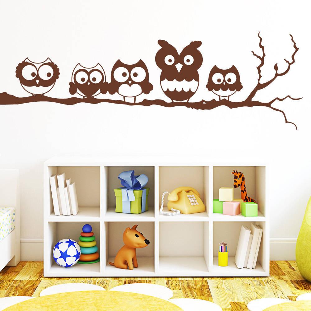 Decorare la casa con gli adesivi murali - Adesivi per muro cameretta ...