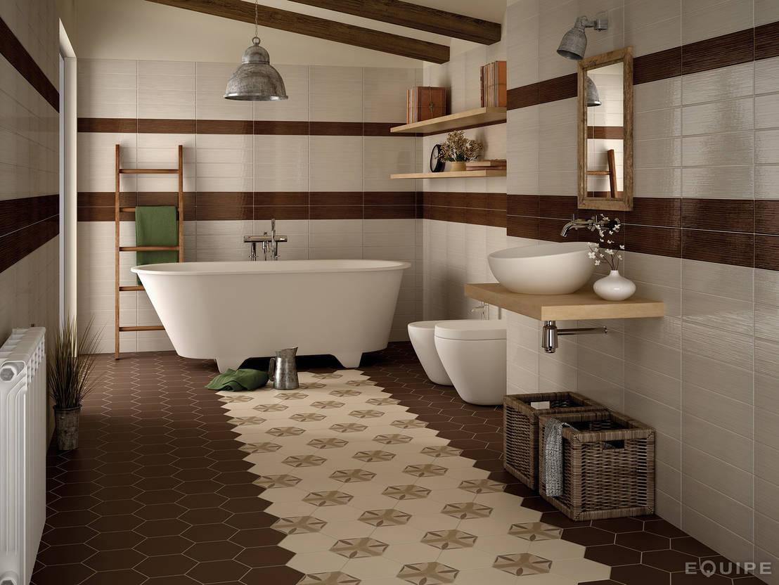 C mo combinar los azulejos del ba o for Lo ultimo en azulejos para banos