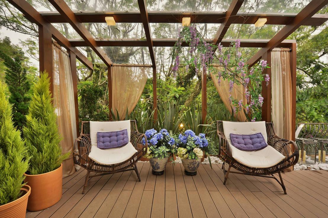 Ideias geniais para jardins internos