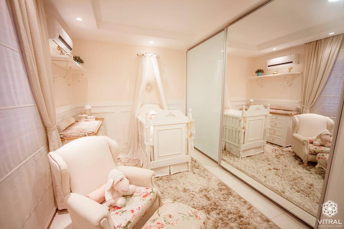 Babyzimmer Mädchen: 10 niedliche Einrichtungstipps
