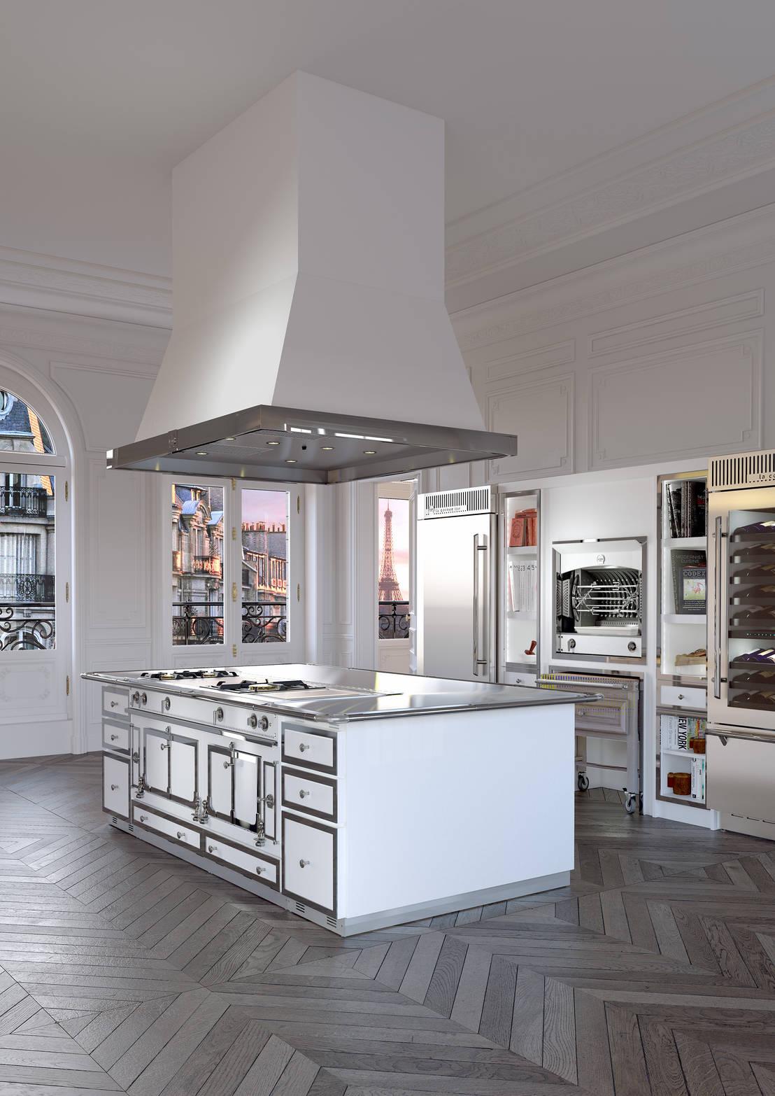 Cocinas con estilo industrial for Libreria estilo industrial