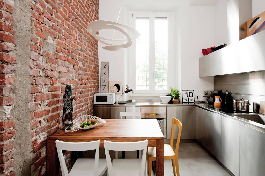 5 case che uniscono stile rustico e moderno for Case stile moderno foto