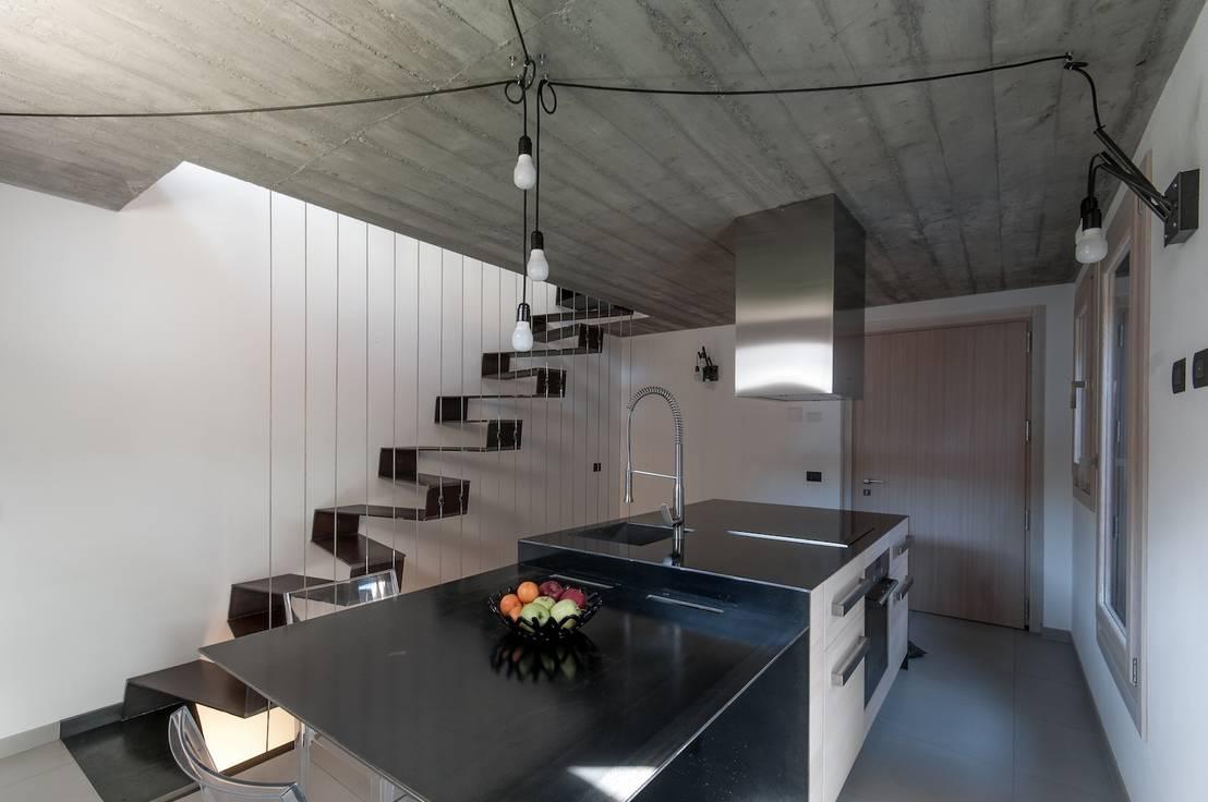 Szara kuchnia w betonie! -> Kuchnia Tapeta Czy Farba