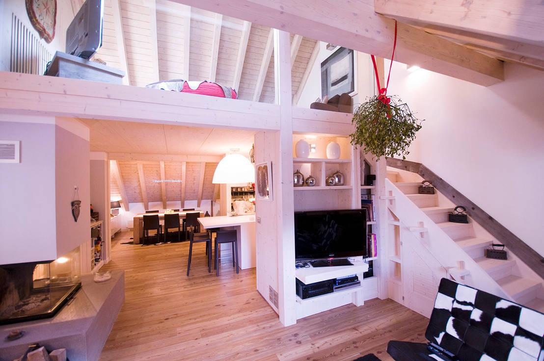 Il soppalco in legno per dare una nuova forma alla casa for Nuova casa in stile