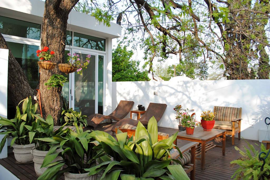 6 ideas frescas para jardines peque os for Jardines en patios pequenos