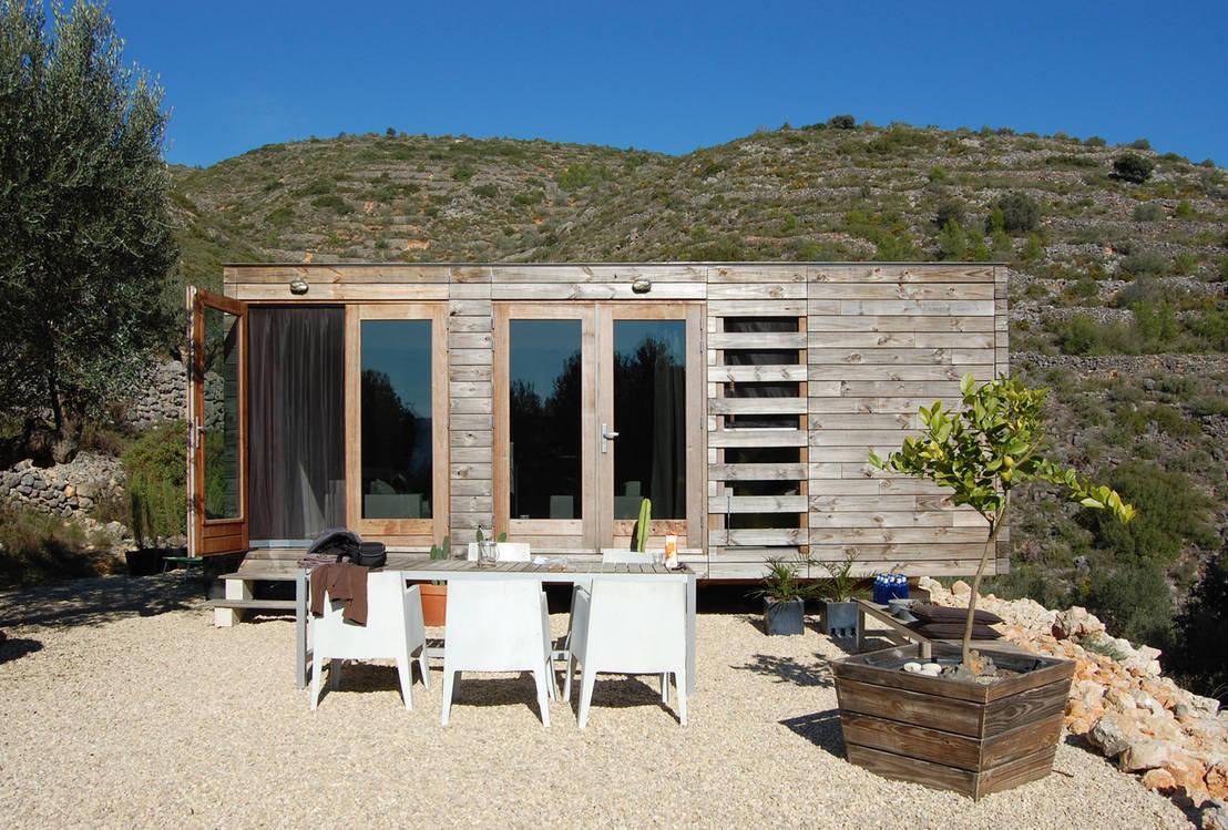 Arquitectura prefabricada una casa de madera ecol gica - Casas de madera prefabricada ...