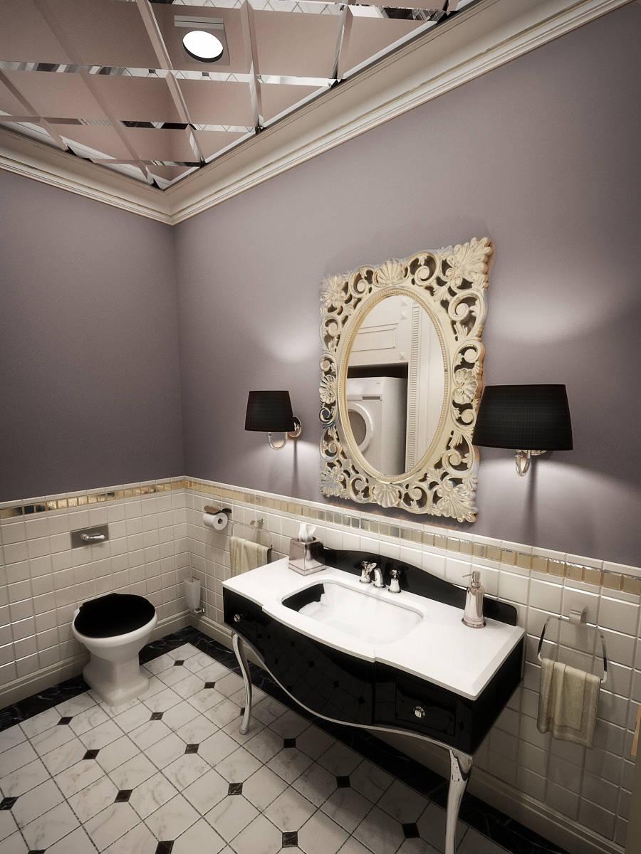 Espejos para cuartos de ba o de los m s cl sicos a los for Banos clasicos modernos