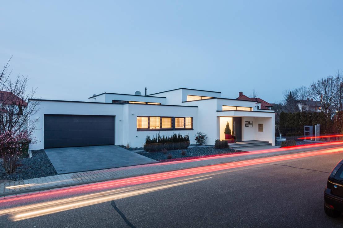10 esempi di case moderne dal tetto piano