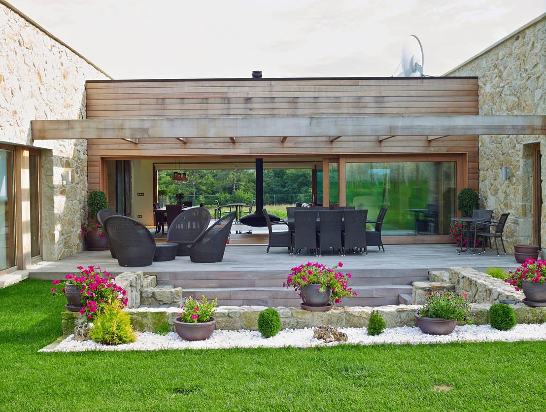 Jardines con piedra 7 ideas fabulosas - Jardines con estilo ...