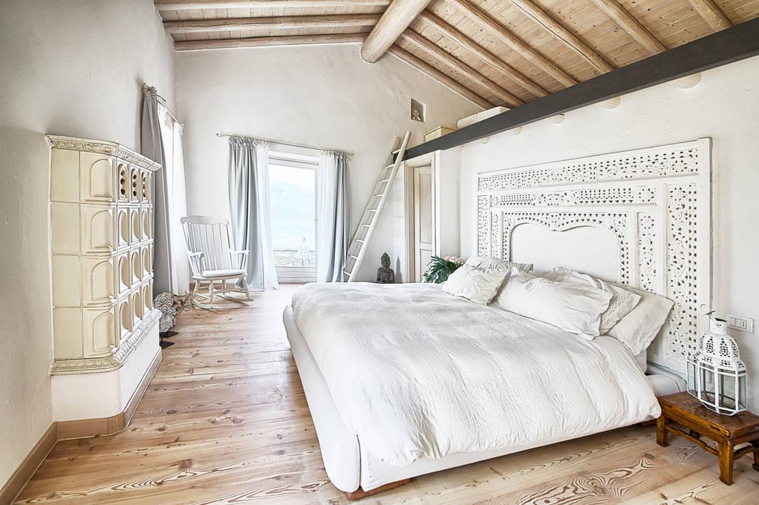 Il meglio delle nostre camere da letto in 10 progetti - Stanze da letto rustiche ...