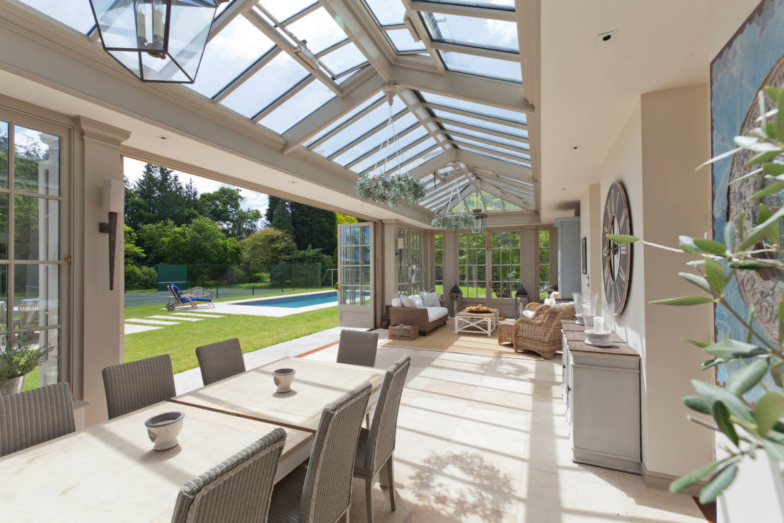 Come trasformare la veranda in camera crea il tuo - Arredare giardino d inverno ...