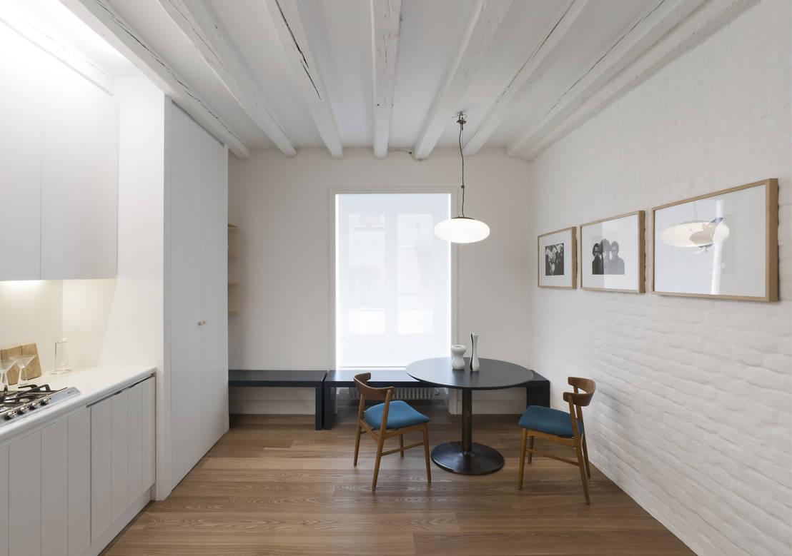 Casa in bianco i 3 buoni motivi di un appartamento a milano for Foto di casa in stile ranch