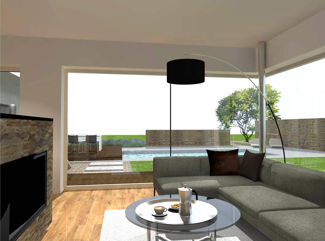 Moderne innenarchitektur einfamilienhaus moderne architektur