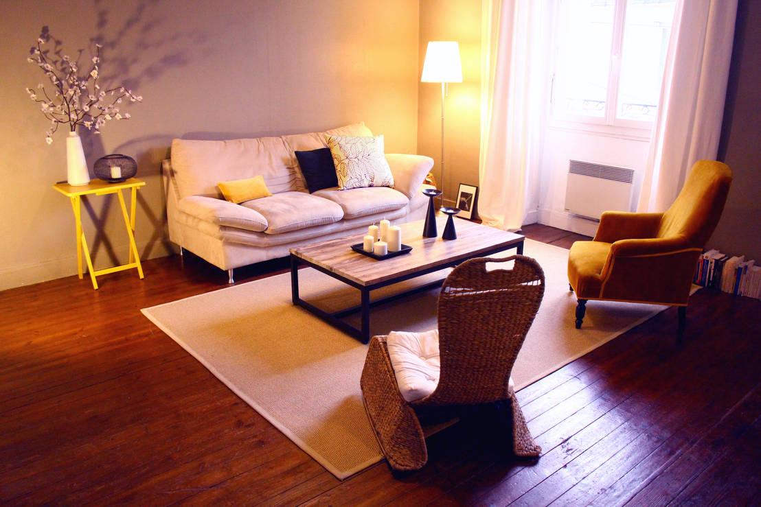 Tendance hivernale salons chaleureux for Salon chaleureux