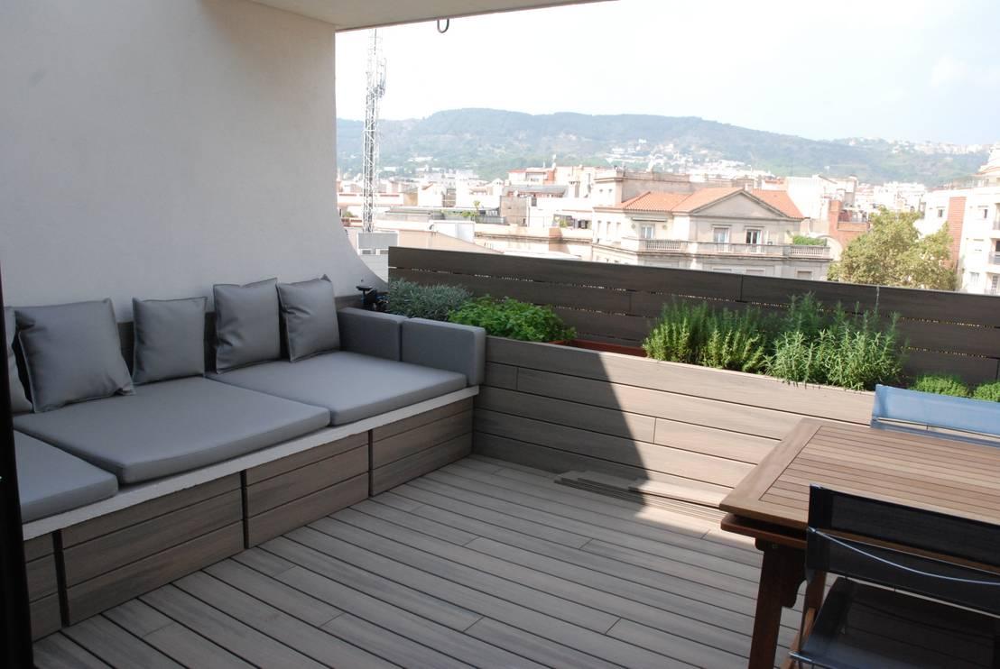 Terrazas de madera for Terraza de madera exterior
