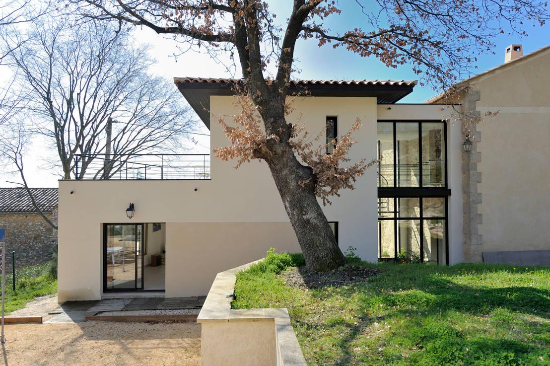 Une maison familiale l 39 int rieur exotique - Creer style minimaliste maison familiale ...