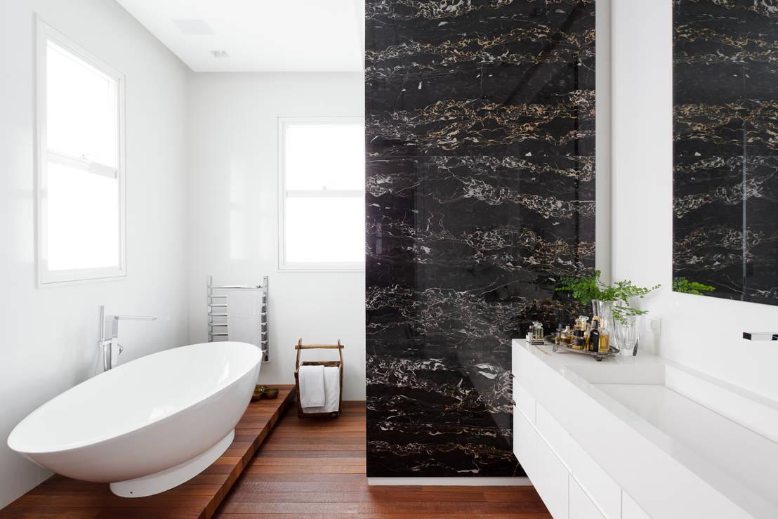 Łazienka czarno biała – 10 pomysłów!
